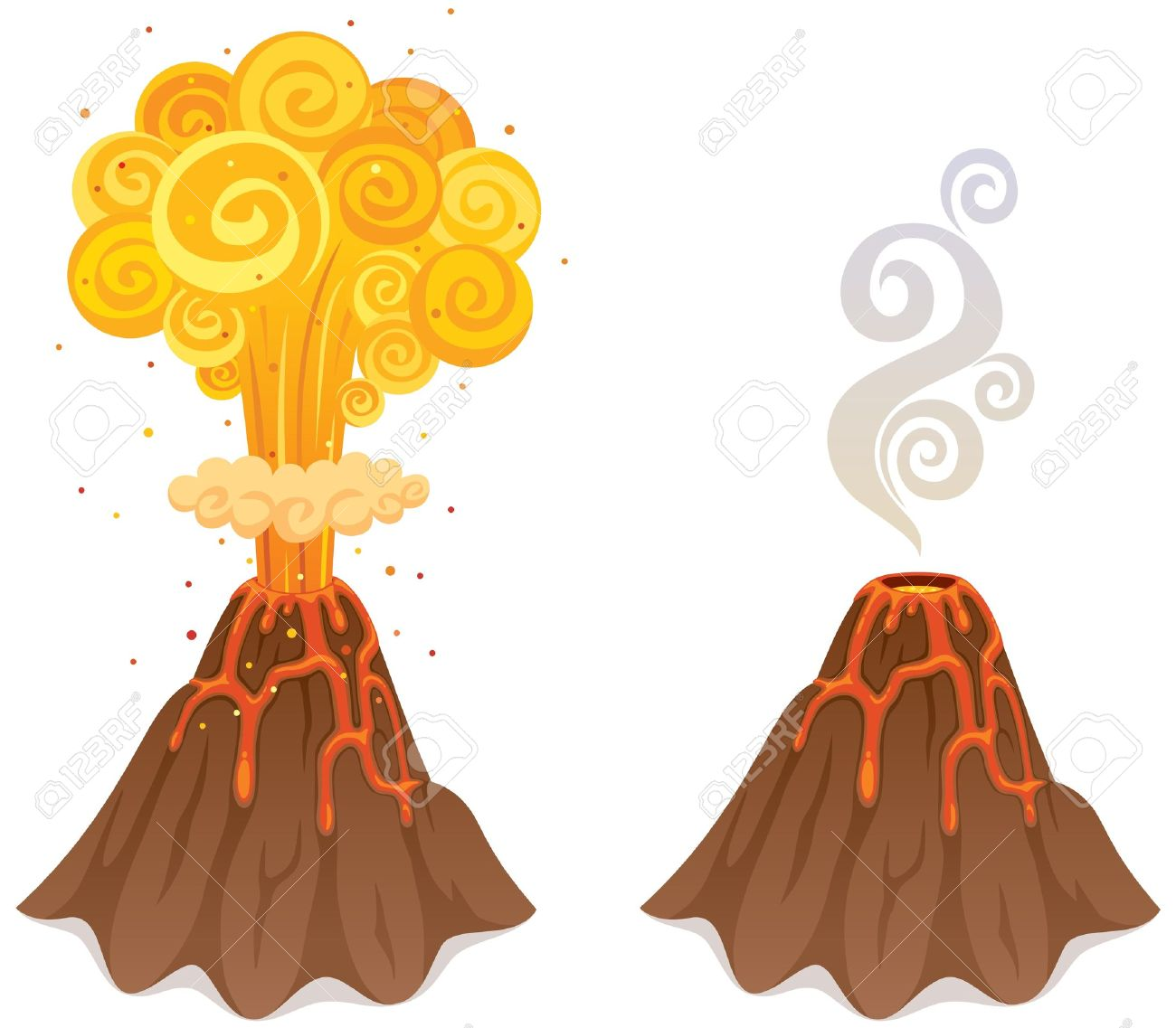 Clipart Volcano Images & Stock Pictures. Royalty Free Clipart ...