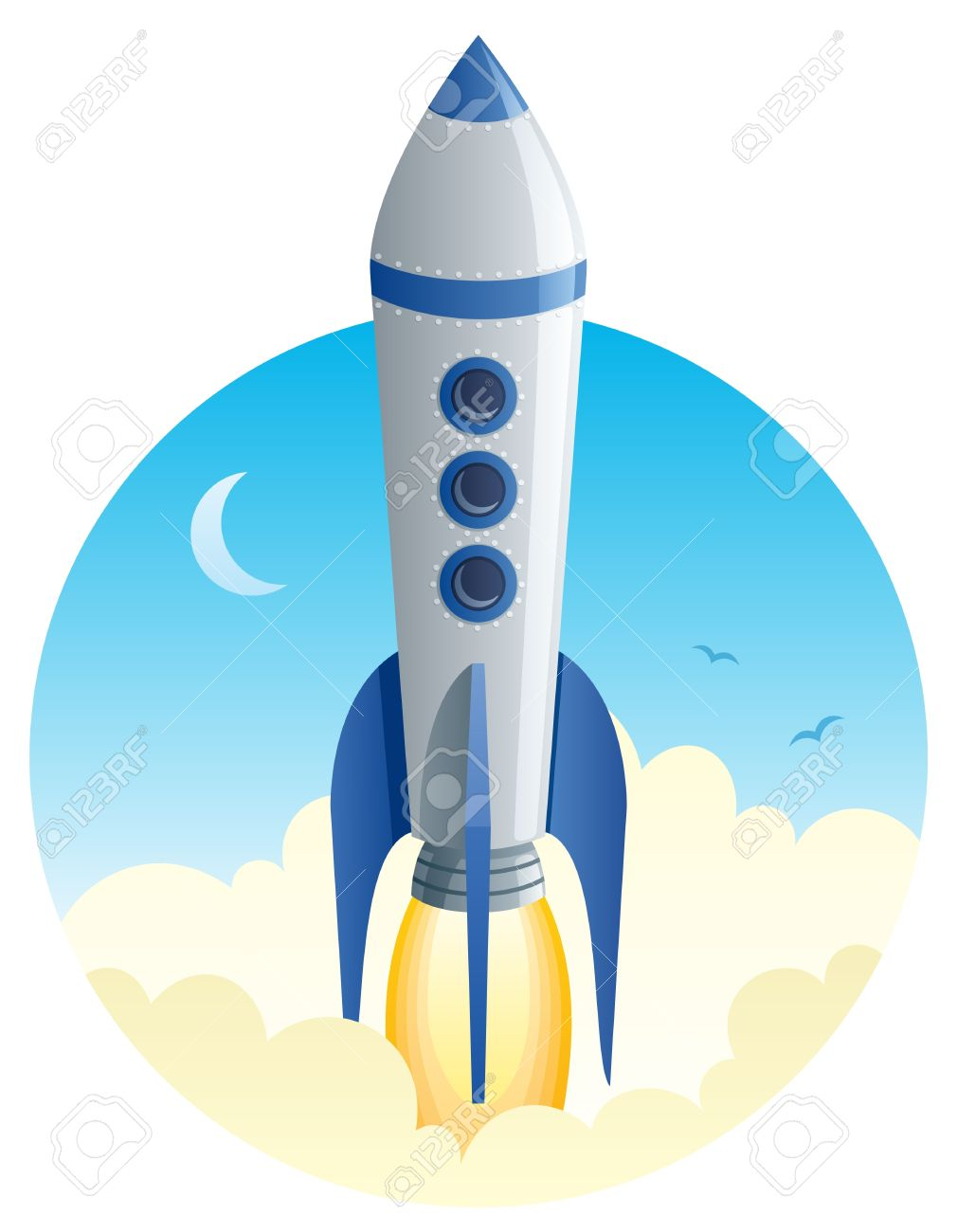36 534 space rocket stock vector illustration and royalty free