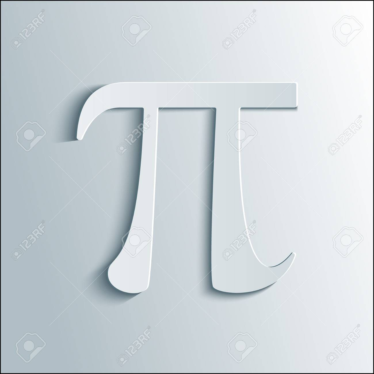 Pi symbol icon pi sign in paper origami 3d style isolated pi symbol icon pi sign in paper origami 3d style isolated illustration stock jeuxipadfo Gallery
