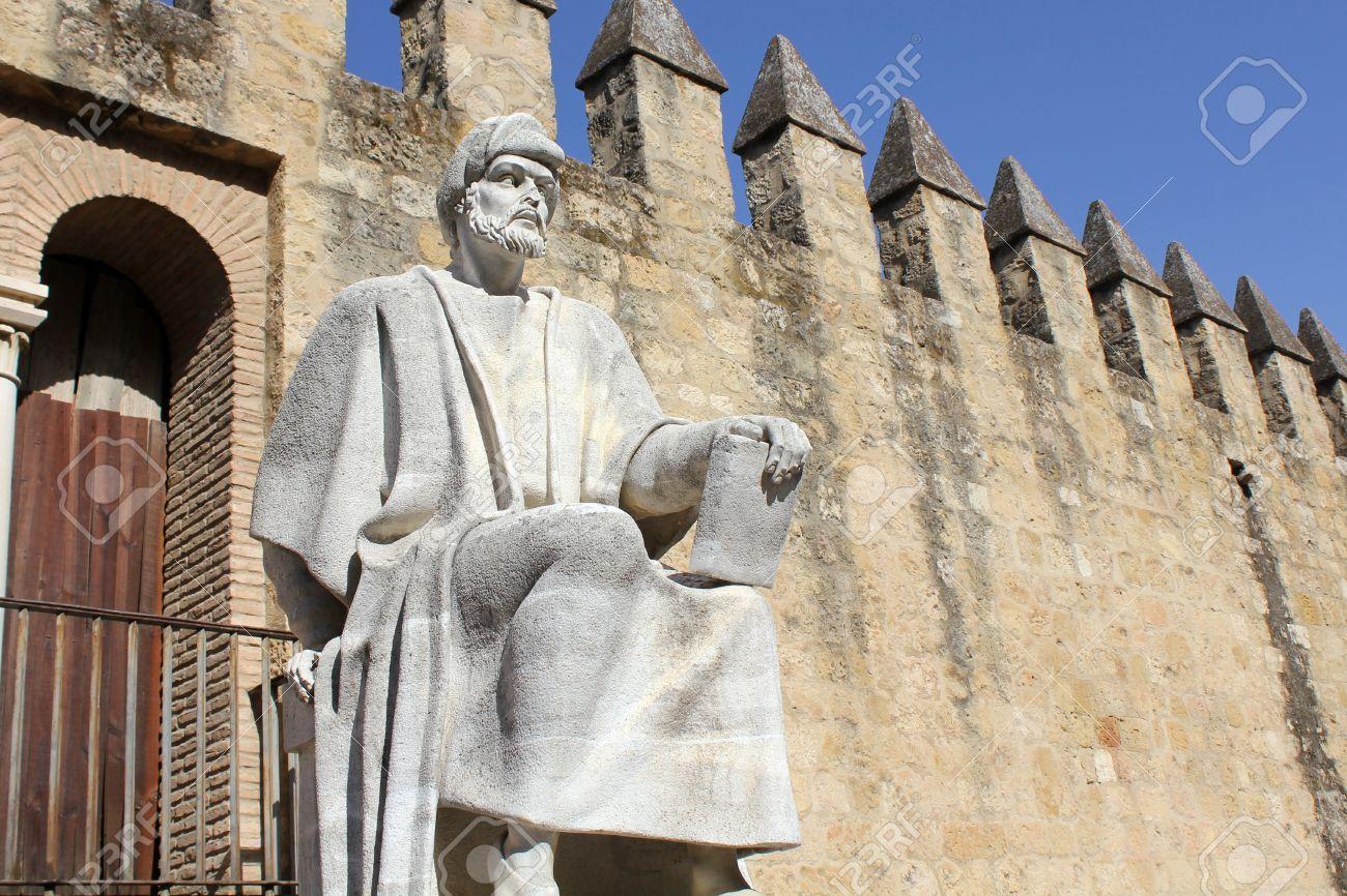 Statue of Averroes in Cordoba - Spain - 17423220