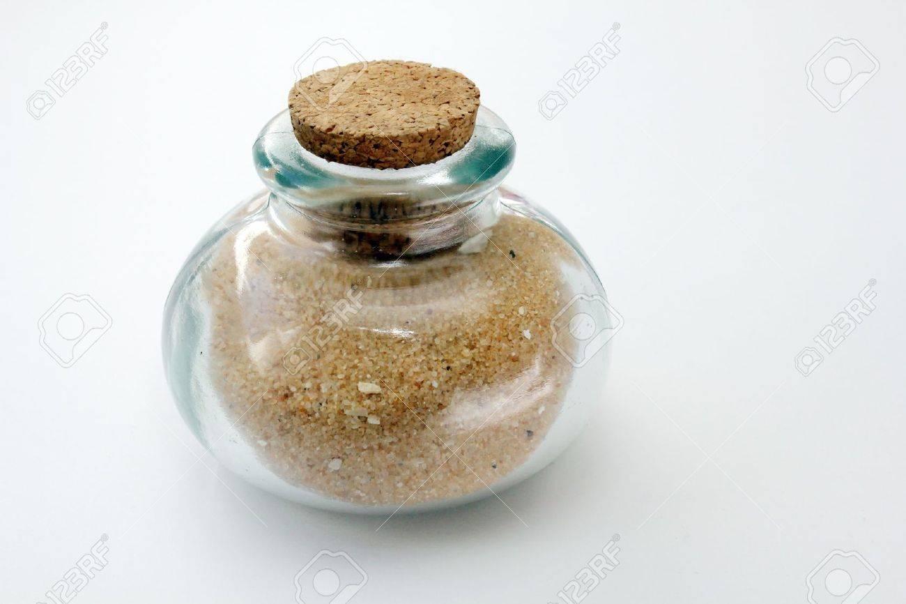 Jar of sand Stock Photo - 18575958