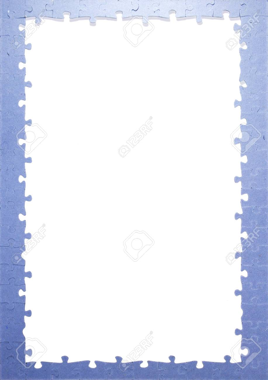 Frame puzzle pieces stock photo picture and royalty free image frame puzzle pieces stock photo 19485869 jeuxipadfo Images