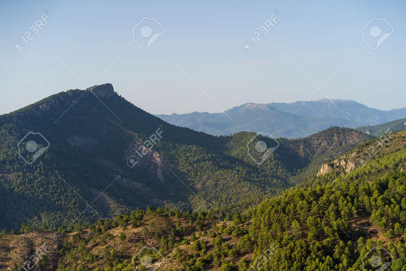 "Mountains landscape in the natural park of ""Cazorla, Segura y Las Villas"" in the province of Jaen - Spain - 162988337"