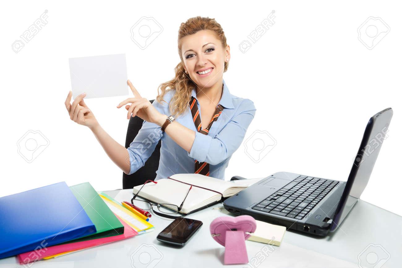 office clerk on white background stock photo picture and royalty office clerk on white background stock photo 17473073