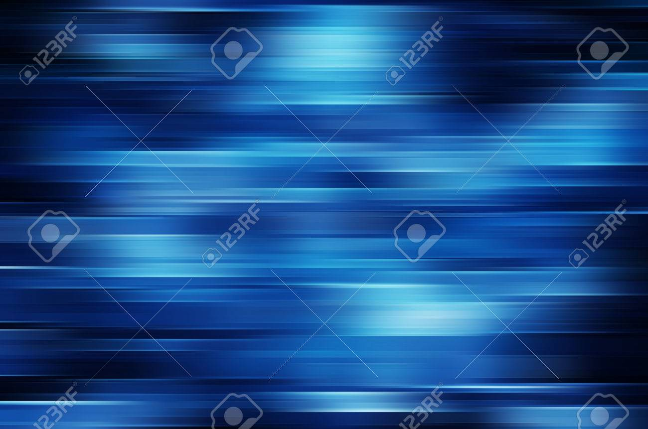 Blue motion blur abstract background - 56219459