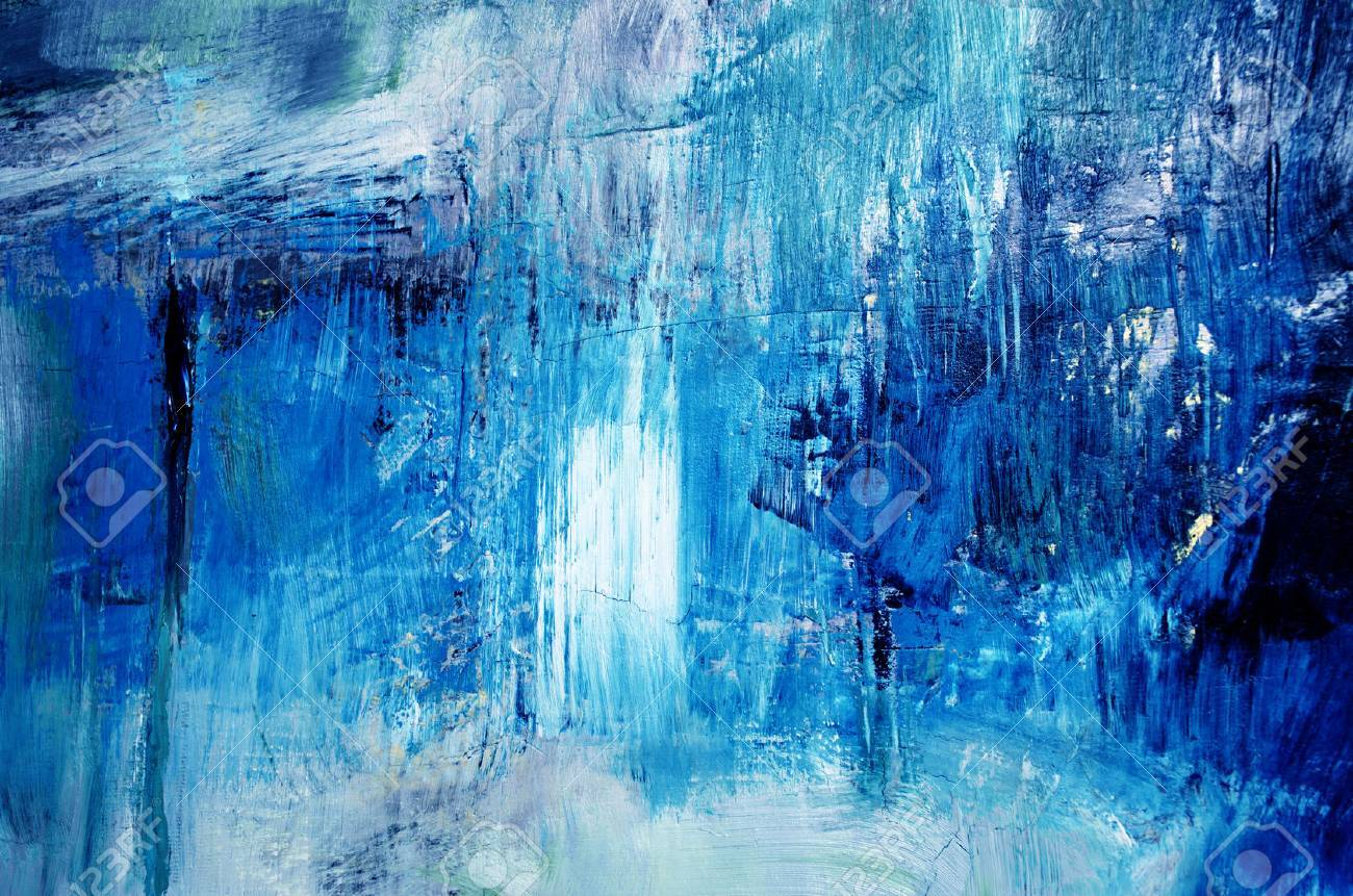 detail of artistic abstract oil painted background - 71708919