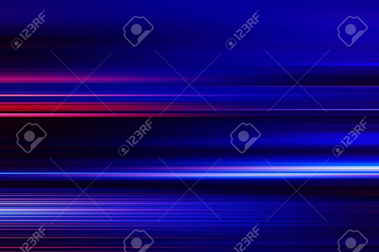 blue technology abstract motion background of speed light - 124627127