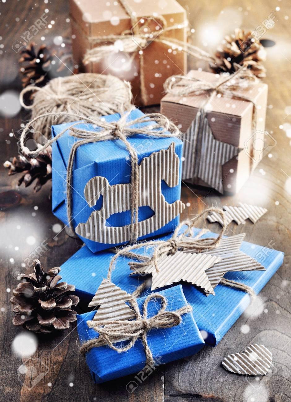 Weihnachten Geschenk-Boxen, Handwerk Papier, Handgemachte Dekoration ...