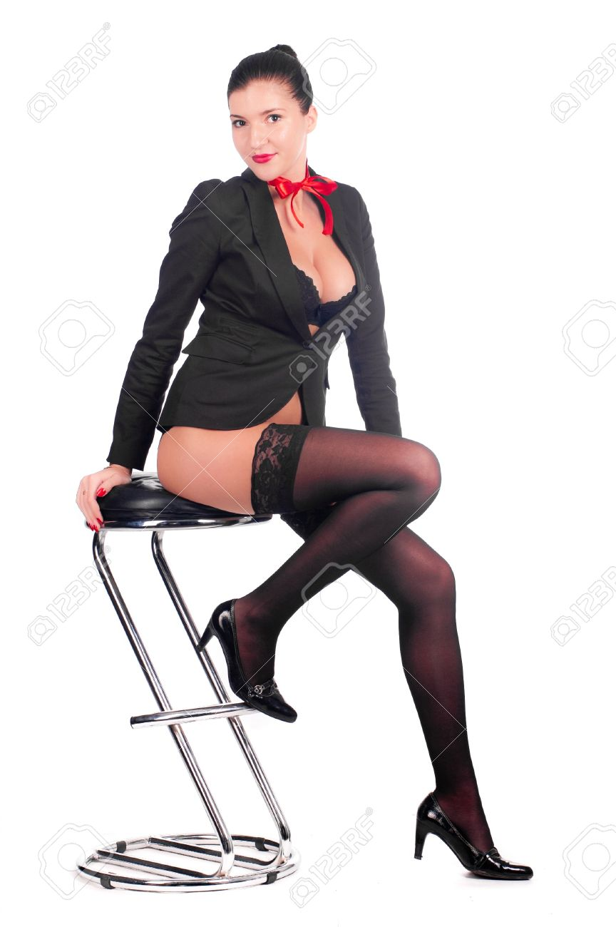 Sexy girls sitting in a chair galleries 902