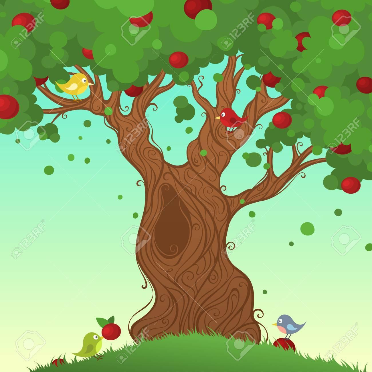 Immagini albero in estate
