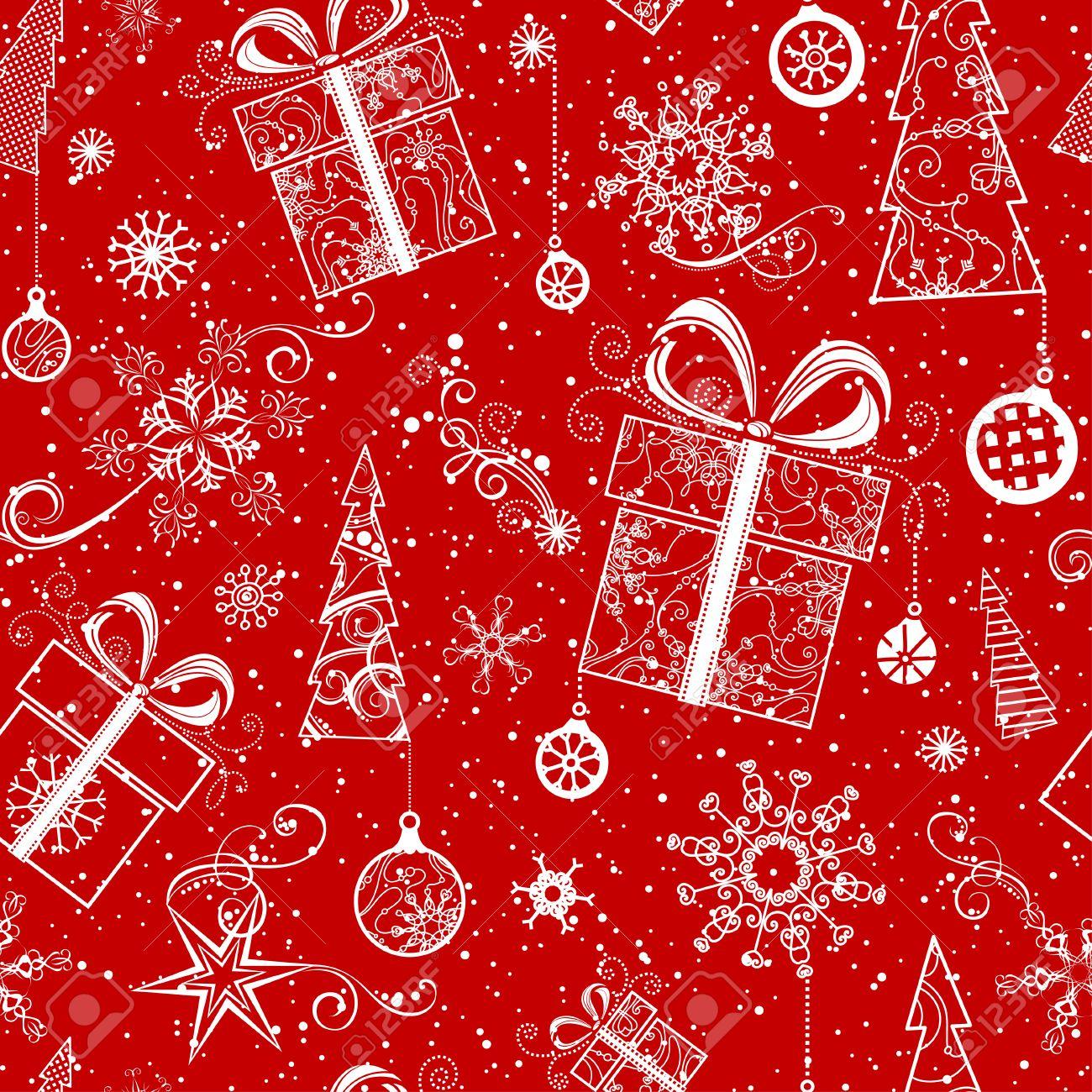 Addobbi Natalizi Vintage.Natale Modello Senza Soluzione Di Continuita Vintage Albero Di Natale Decorato Addobbi Natalizi Palle Di Natale Turbinii Stelle E Fiocchi Di