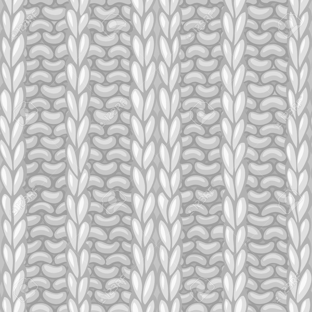 Patrón De Tejer Sin Fisuras. Vector De Tejer Textura. Vector Altos ...