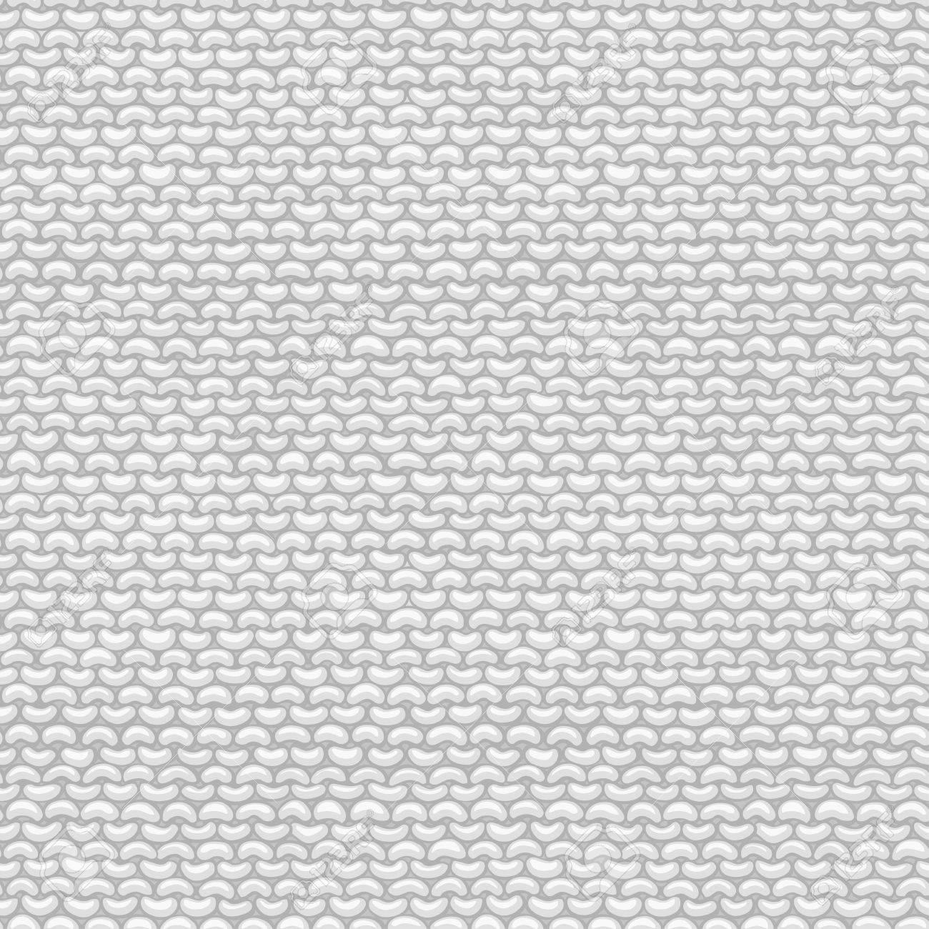 Seamless Pattern of Garter Stitch. Stockinette stitch, reverse..