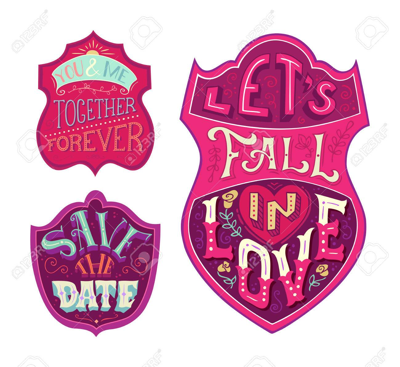 You And Me Together Forever Lets Fall In Love Save The Date