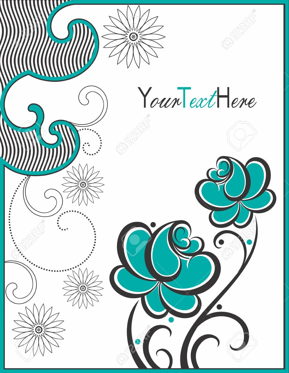 Creative greeting card royalty free cliparts vectors and stock creative greeting card m4hsunfo
