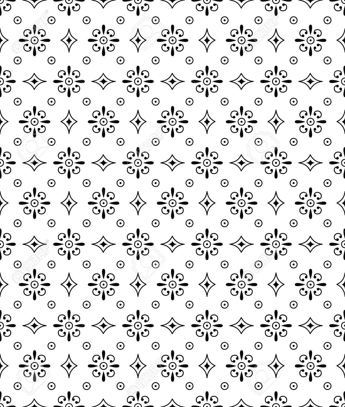 Seamless wallpaper and background Stock Vector - 17009881