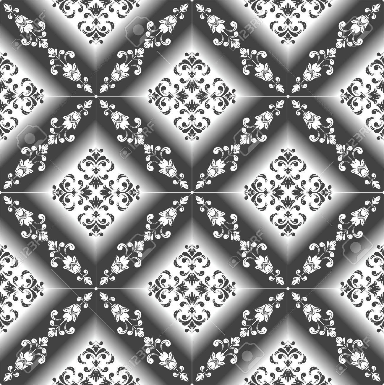 Seamless luxurious Wallpaper-Background Stock Vector - 17816319