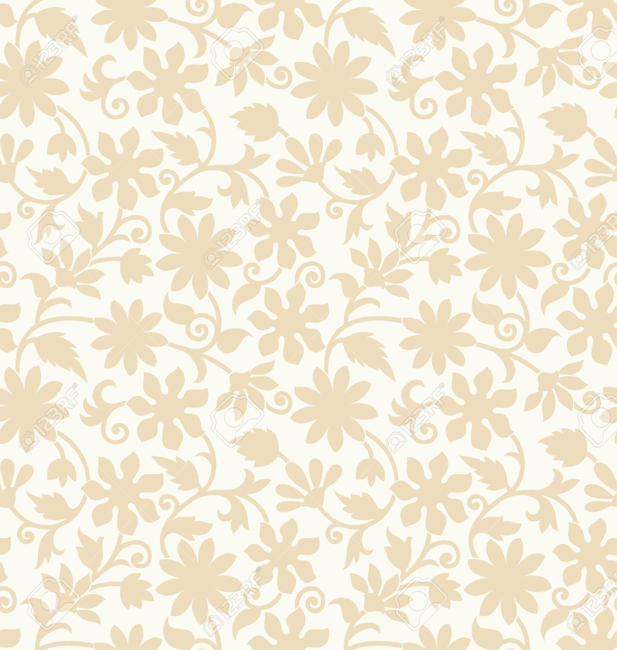 Seamless Invitation Card Background Pattern Royalty Free Cliparts