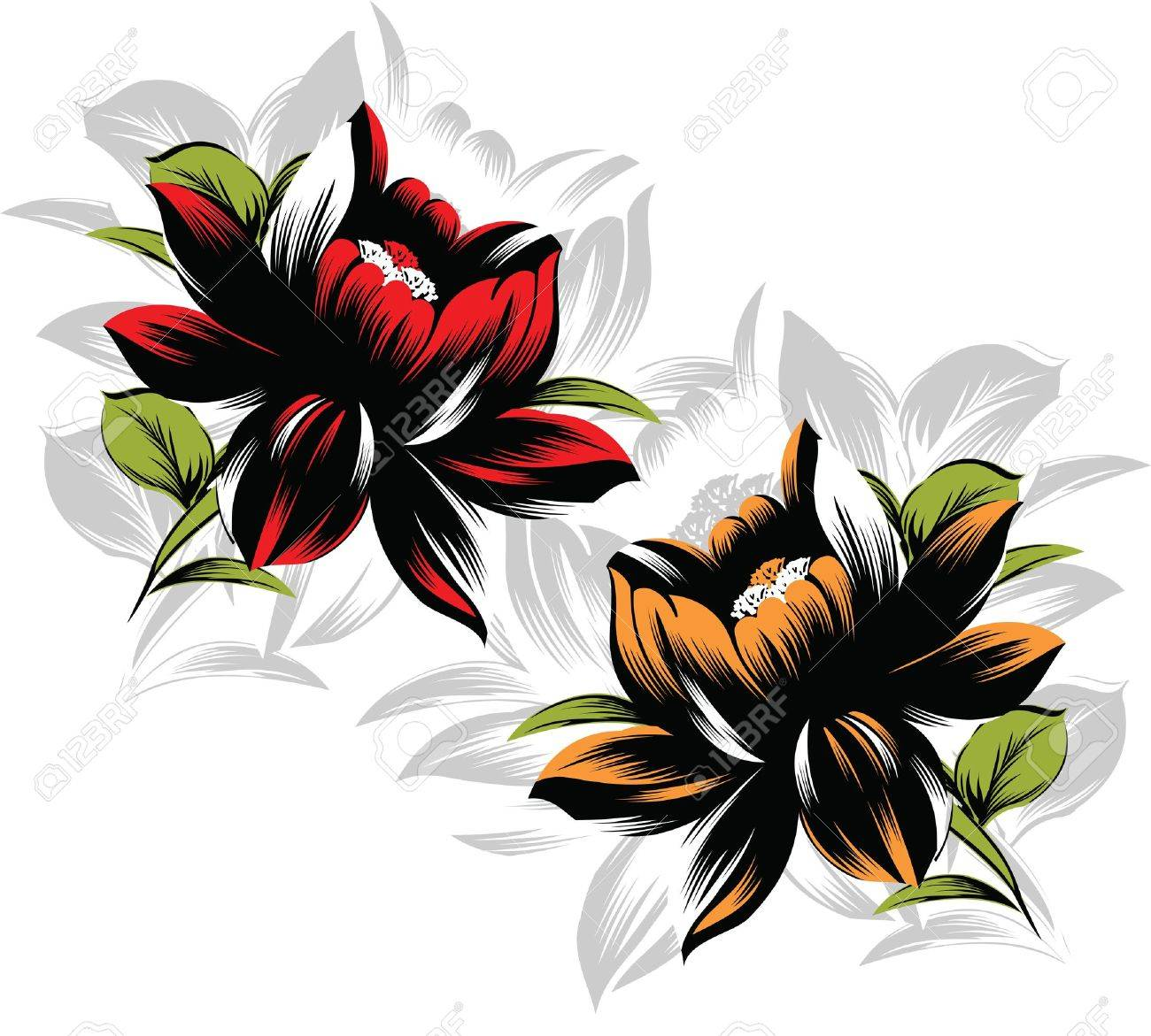 Vector flower design Stock Vector - 19098287
