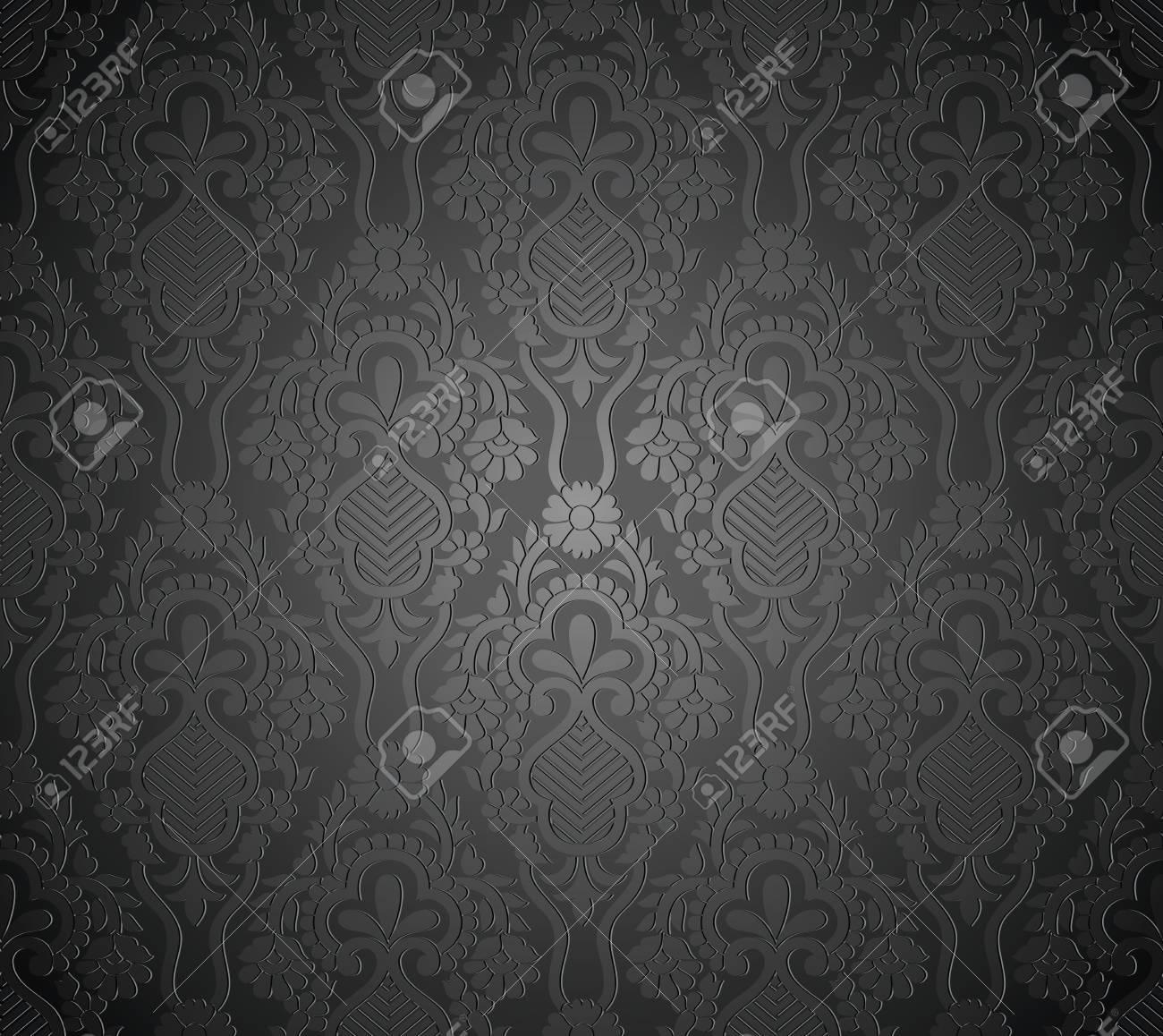 Seamless royal vector wallpaper Stock Vector - 19882733