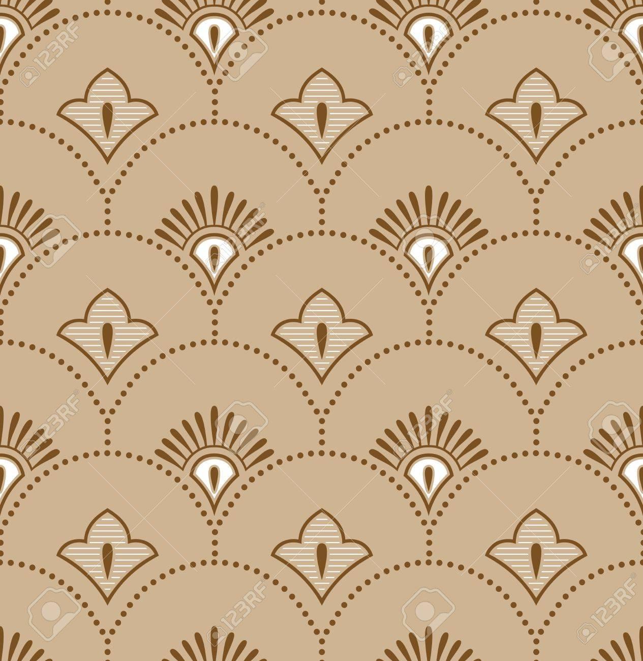 Seamless royal golden wallpaper Stock Vector - 19882737
