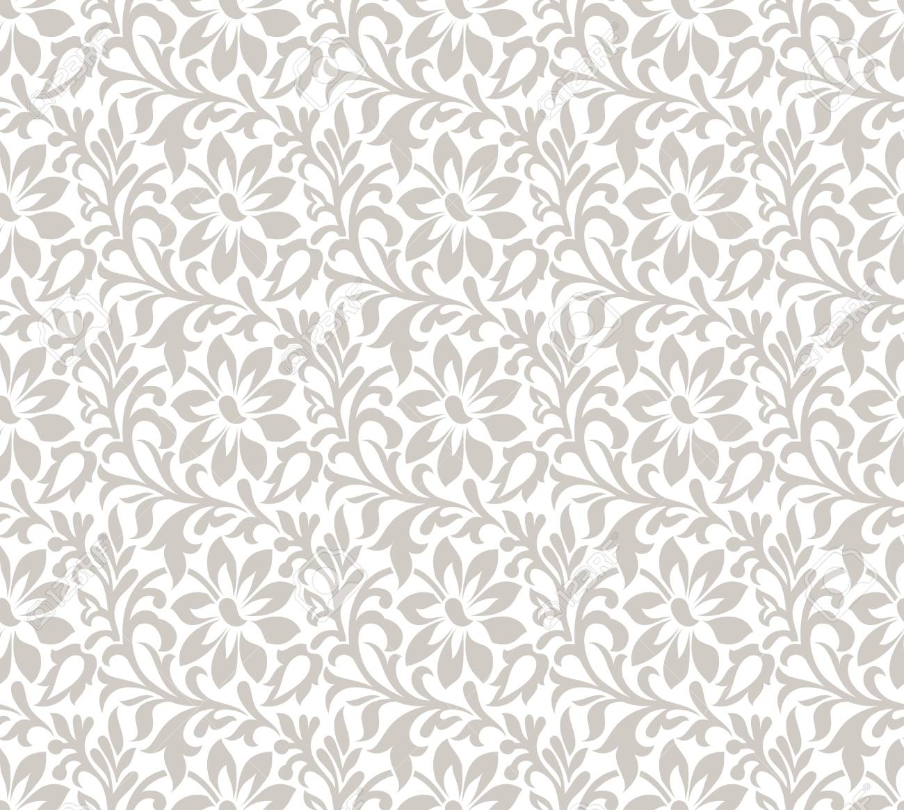 Floral Fancy Wallpaper Stock Vector