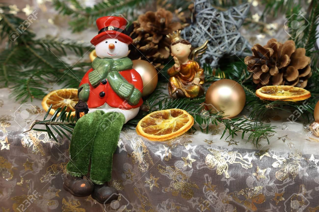 Weihnachten Spielzeug Schöne Weihnachten und Silvester Szene Standard-Bild - 87981194