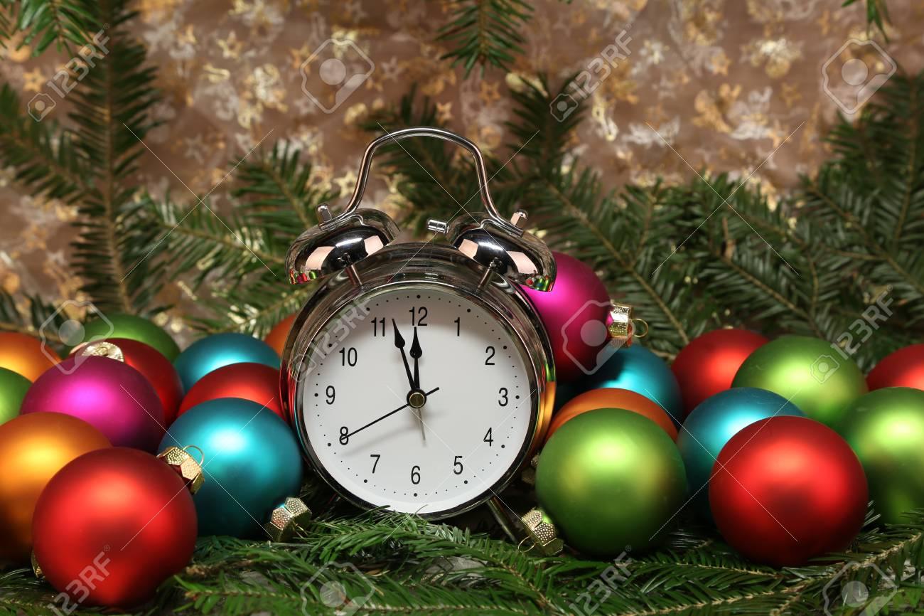 Weihnachten Spielzeug Schöne Weihnachten und Silvester Szene Standard-Bild - 87965254