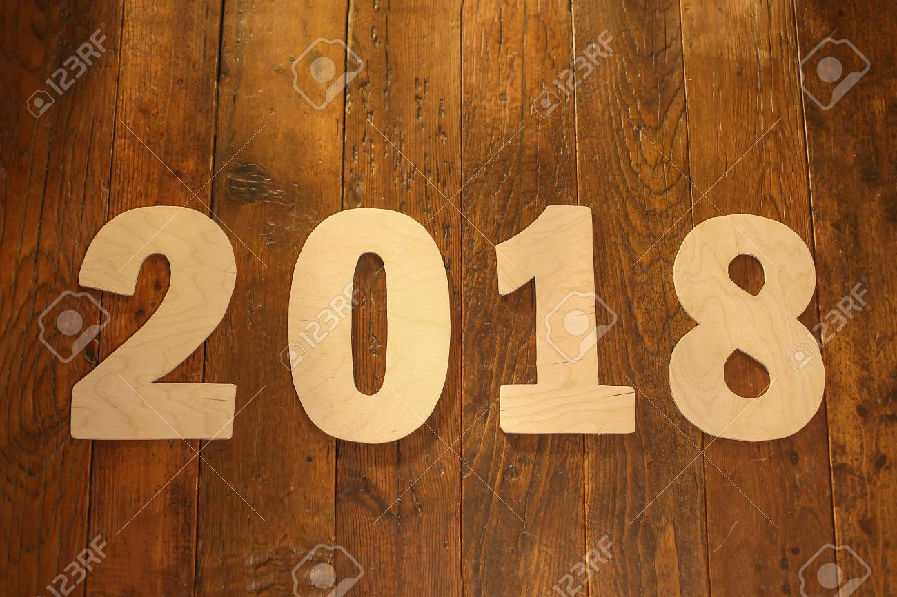 New Year 2018 Standard-Bild - 88114354