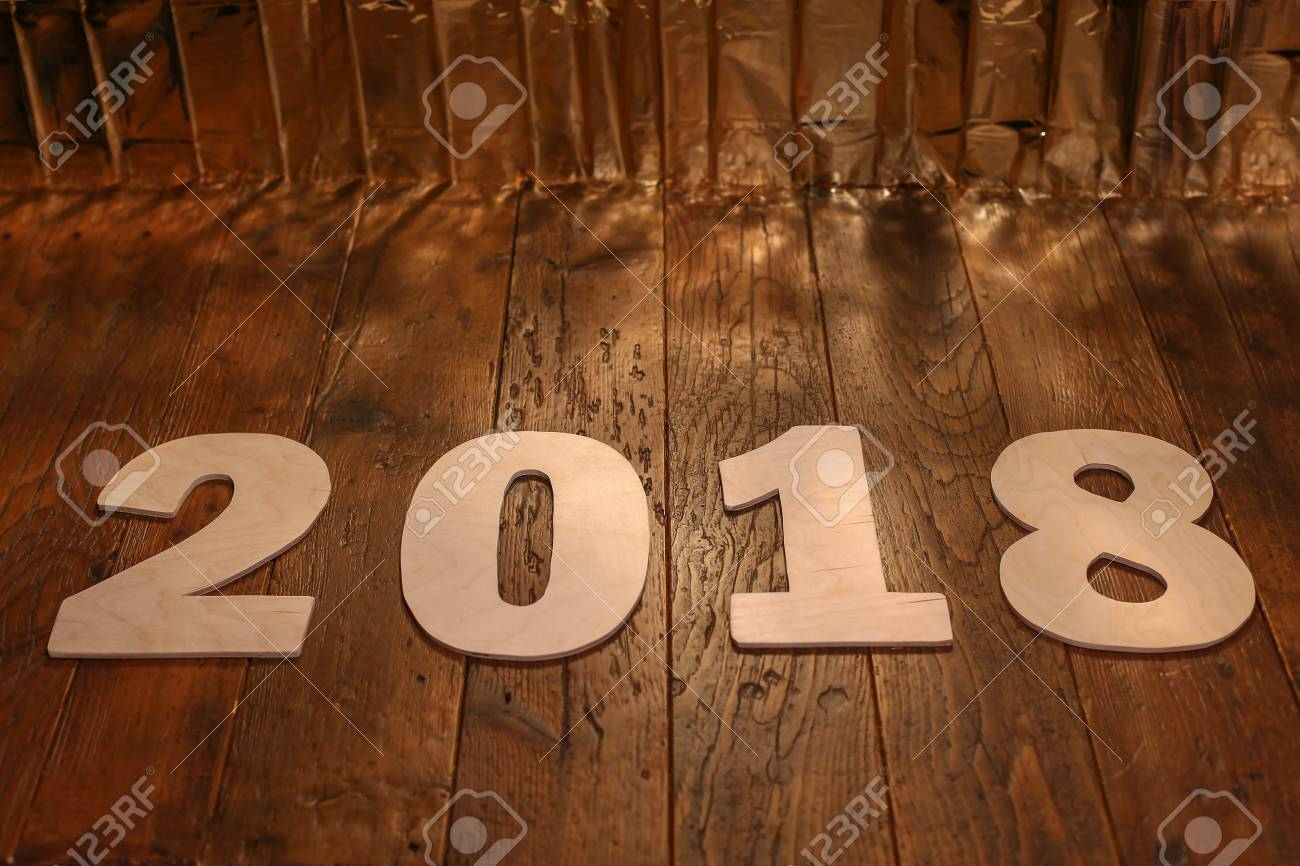 Neujahr 2018 Standard-Bild - 88037326