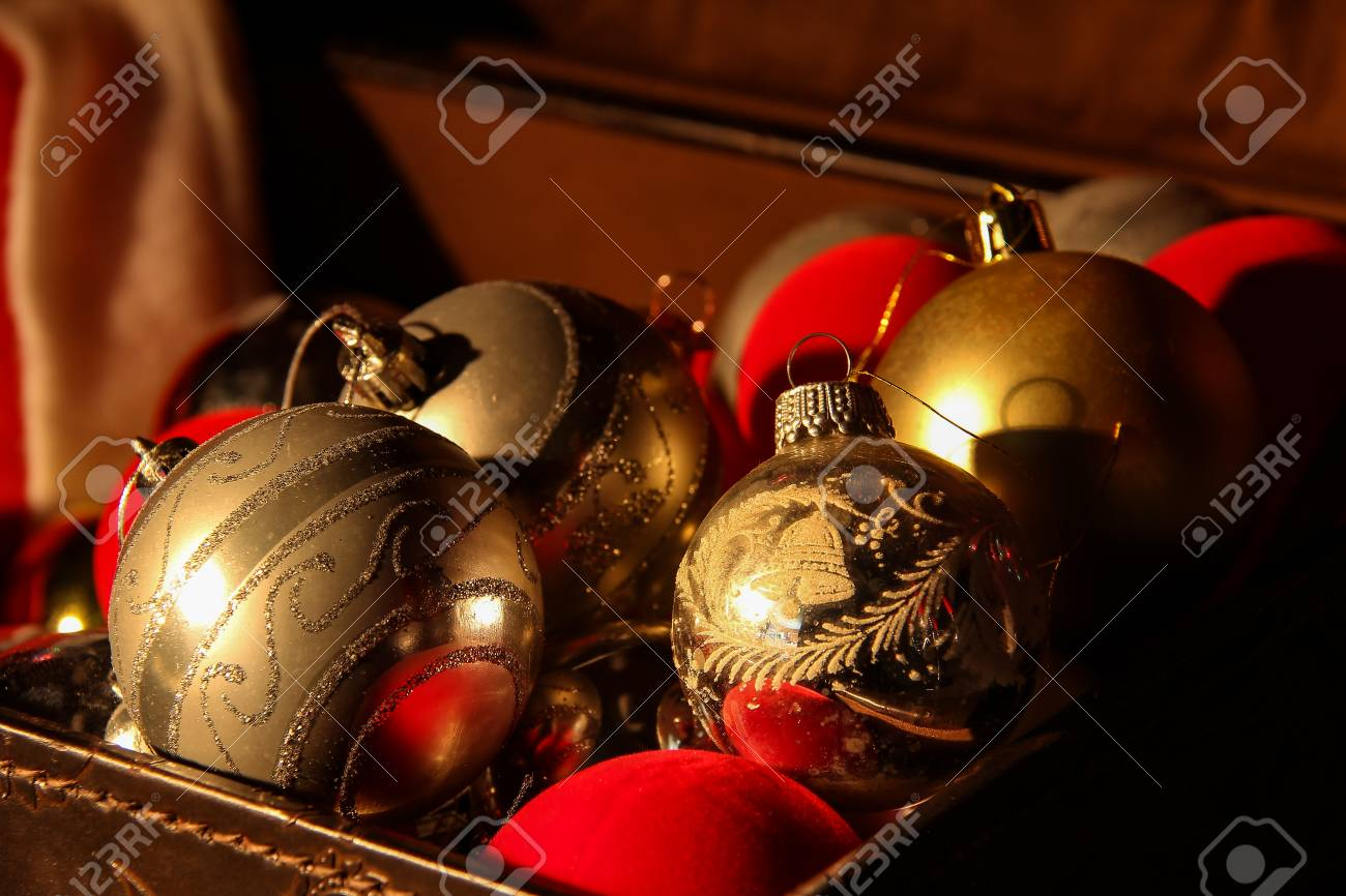 Christmas Toys / Beautiful Christmas and New Years scene Standard-Bild - 88210015