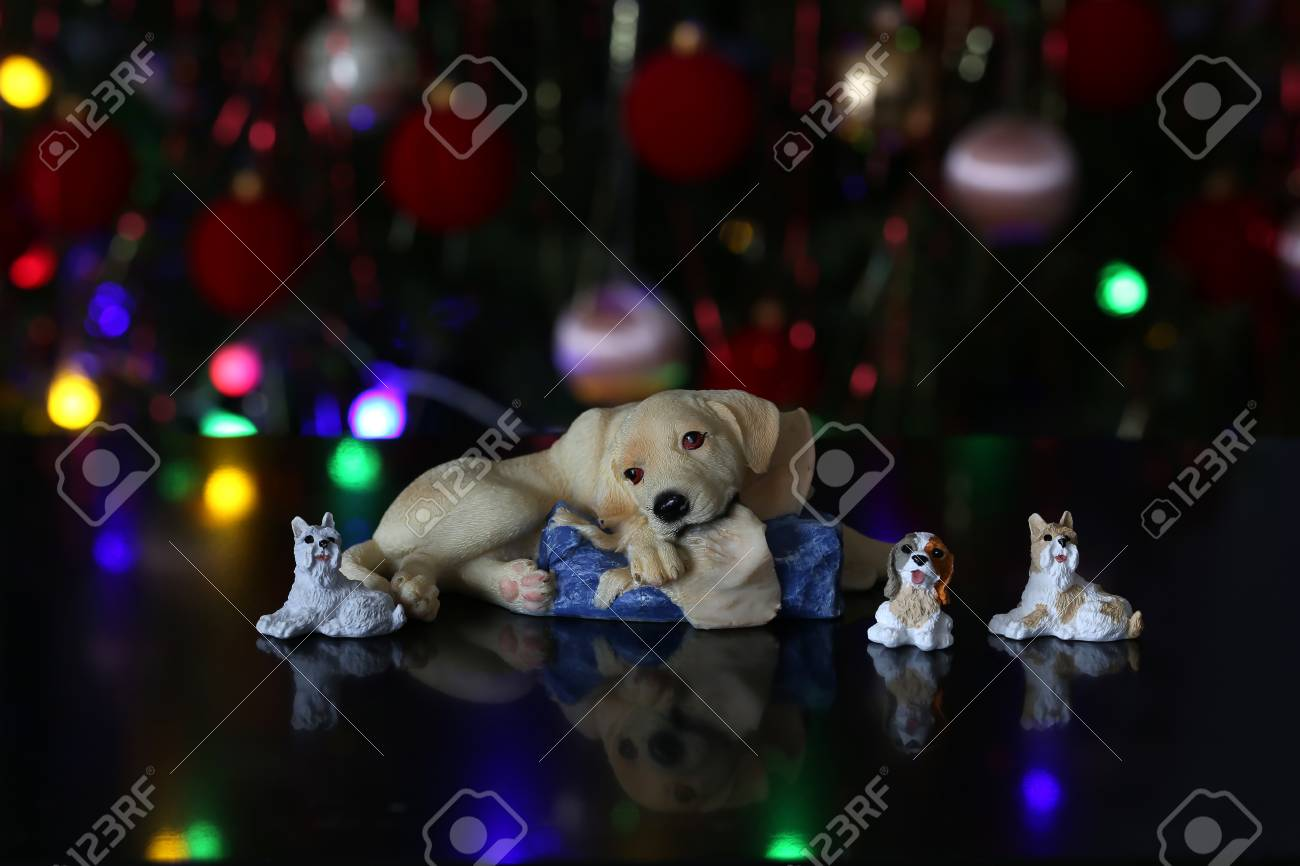 Christmas / Beautiful Christmas and New Years scene Standard-Bild - 93739420