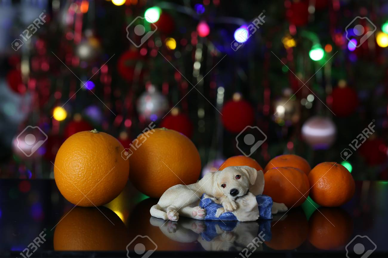 Christmas / Beautiful Christmas and New Years scene Standard-Bild - 93702248