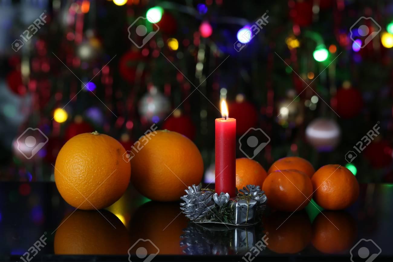 Christmas / Beautiful Christmas and New Years scene Standard-Bild - 93694687
