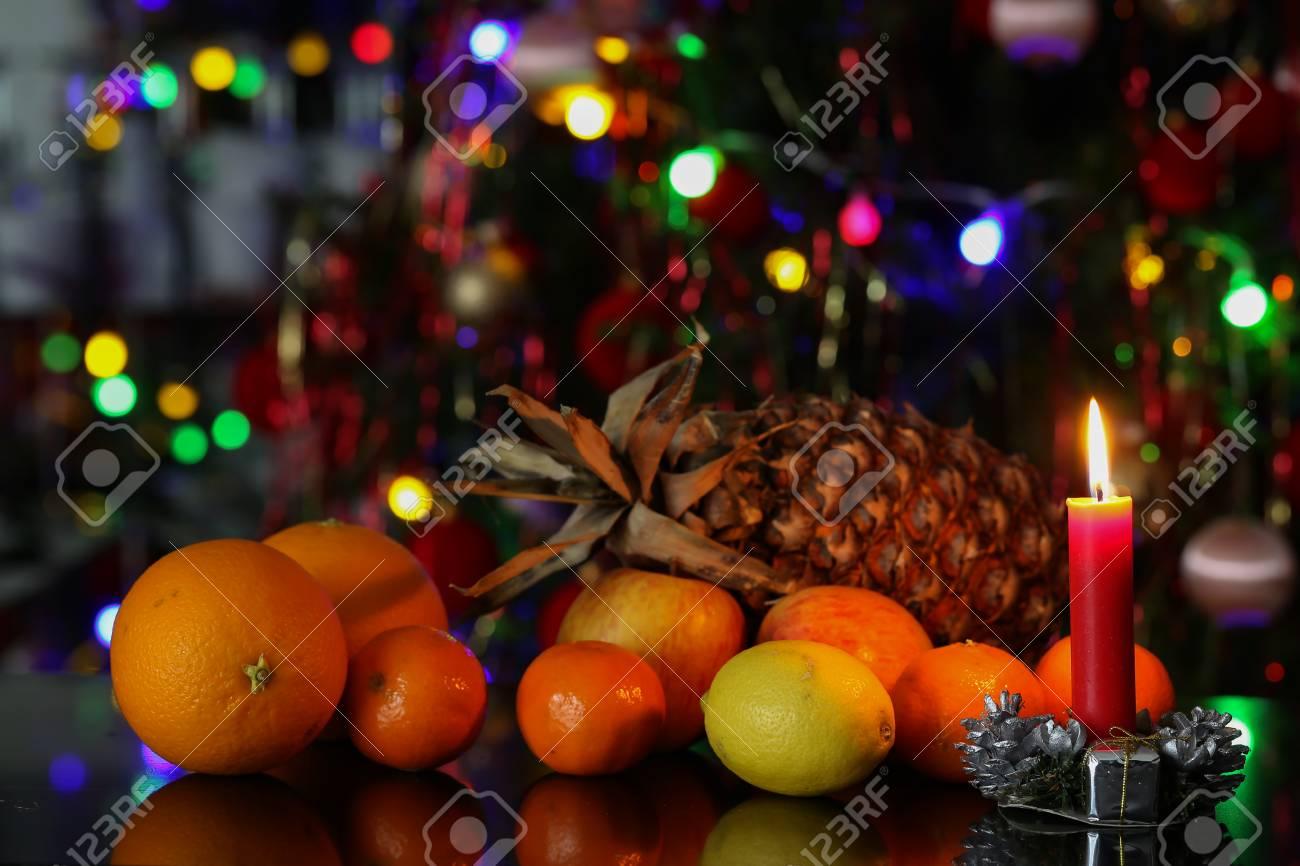 Christmas / Beautiful Christmas and New Years scene Standard-Bild - 93739422