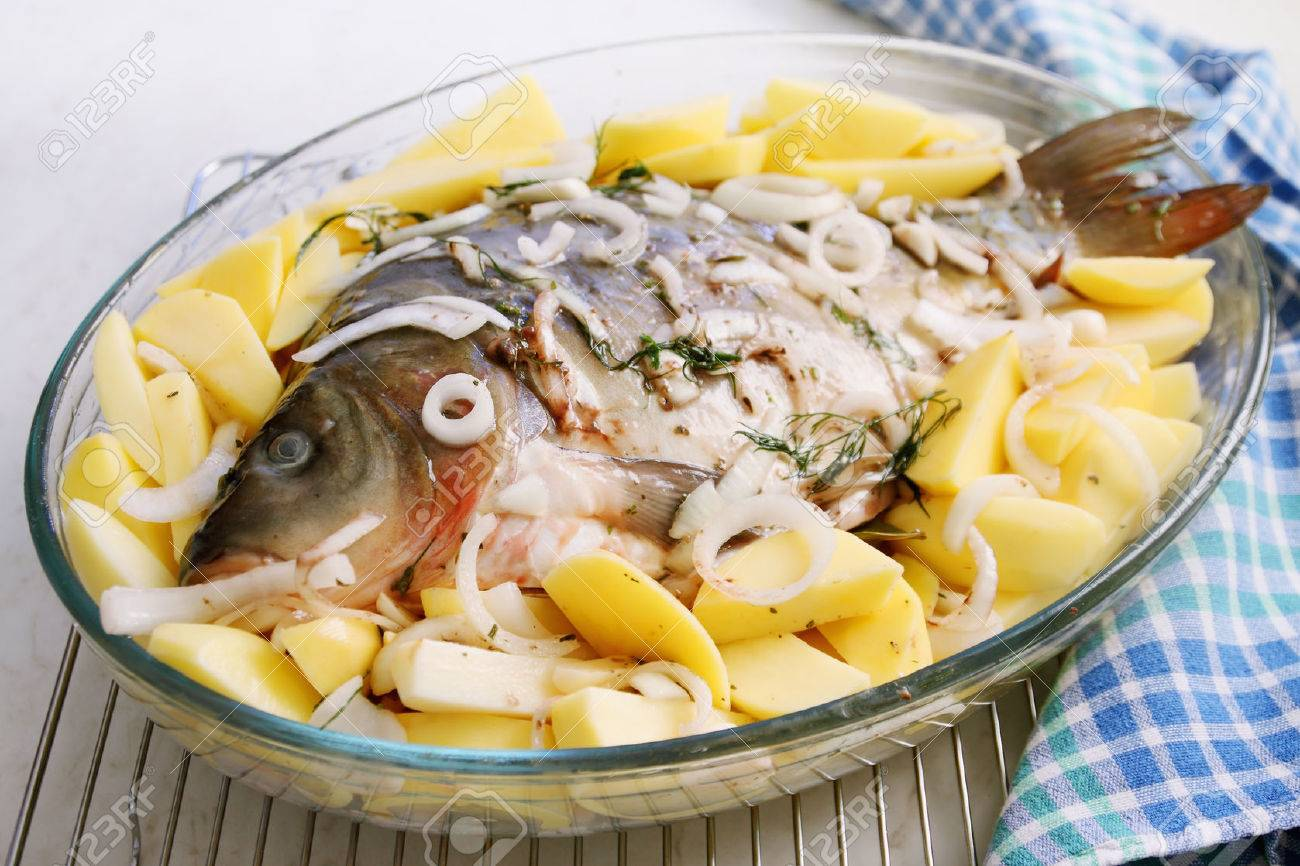 Pickled carp. Recipes for beginners culinary 27