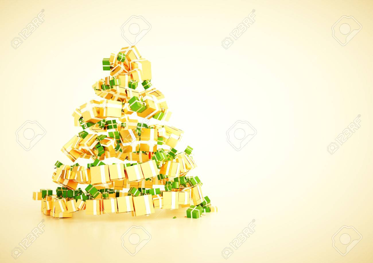 d xmas gift christmas tree spiral shape concept a horozontal 3d xmas gift christmas tree spiral shape concept a4 horozontal poster template blank