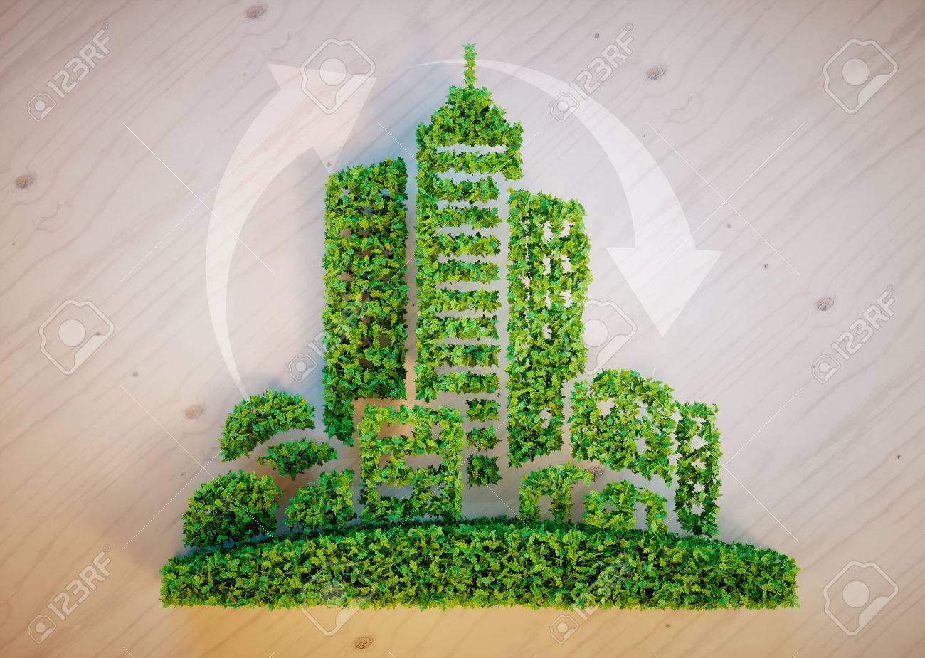 Green city concept - 51986771