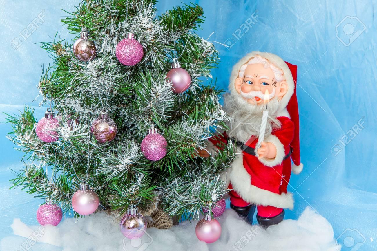 Dekoration Weihnachtsbaum.Stock Photo