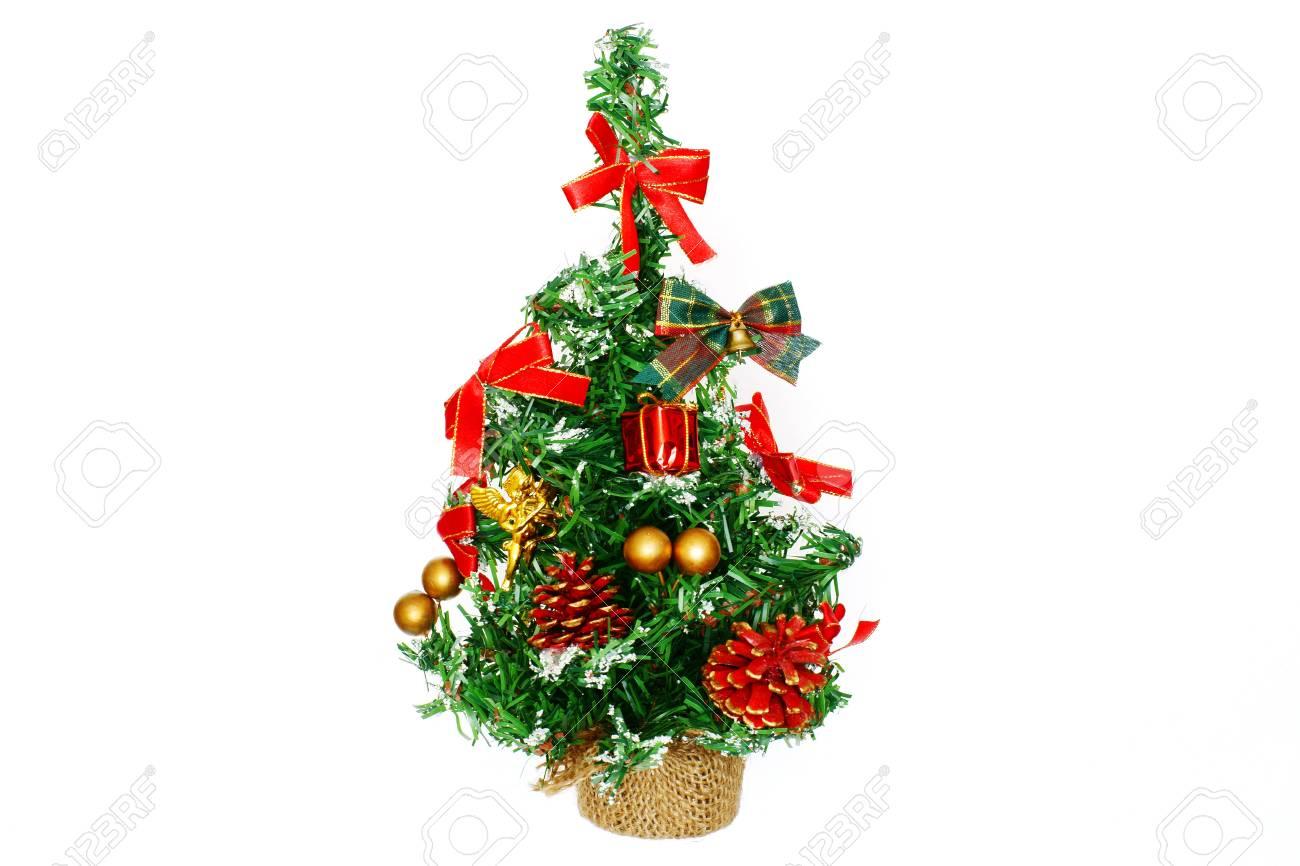 Le Petit Sapin De Décoration Pour Noël Et Nouvel An, Est Décoré