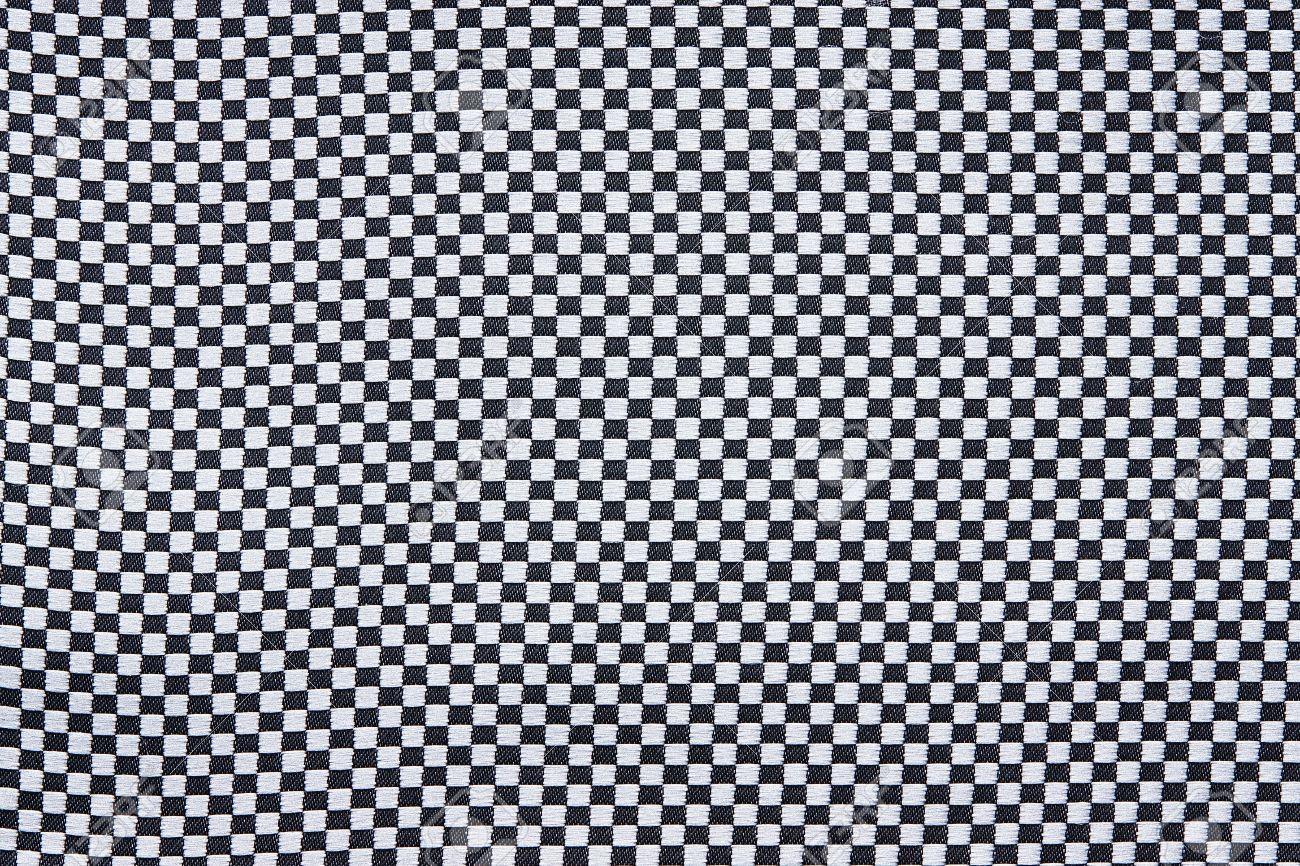 抽象的な背景に 白黒の壁紙用のチェス ケージで生地のテクスチャ の