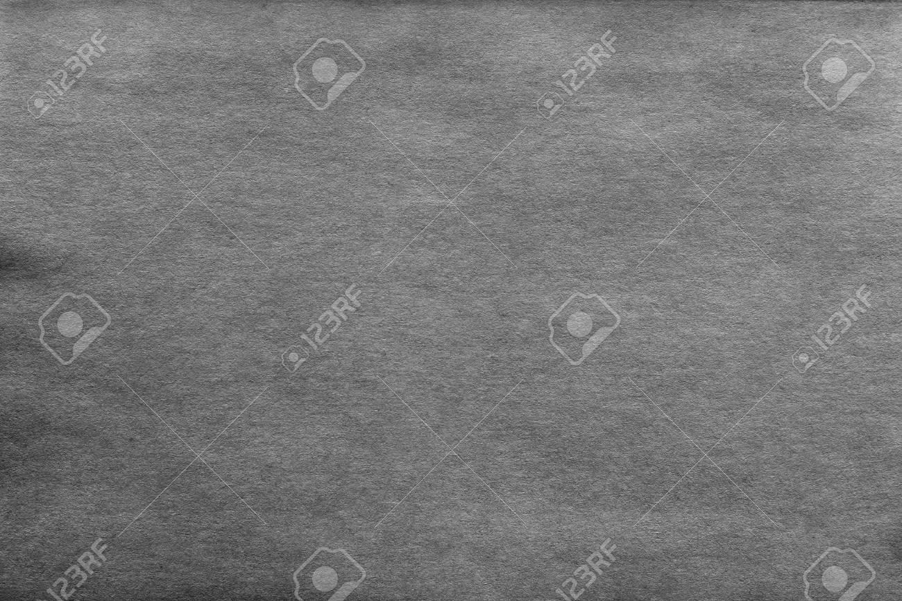 Vintage Texture Of Old Paper Or Cardboard Of Dark Gray Color
