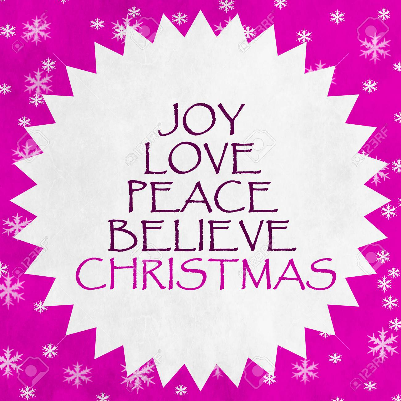 Merry Christmas Season Greetings Quote Stock Photo Picture And