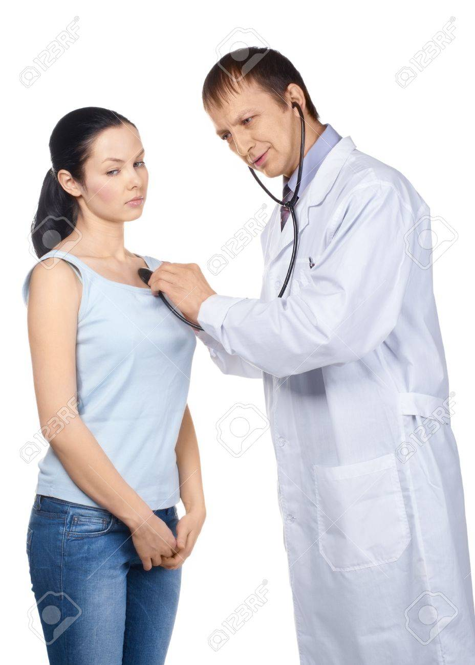 Doctor Listening to Heartbeat Doctor Listening The Heartbeat