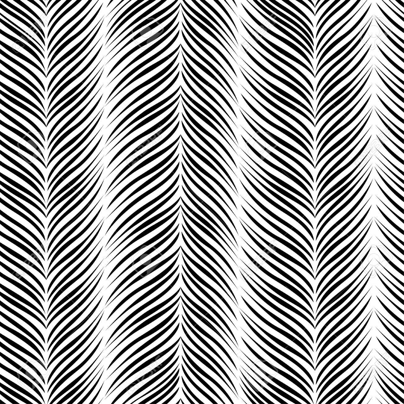 Trendy simple seamless tropical pattern. - 80332327