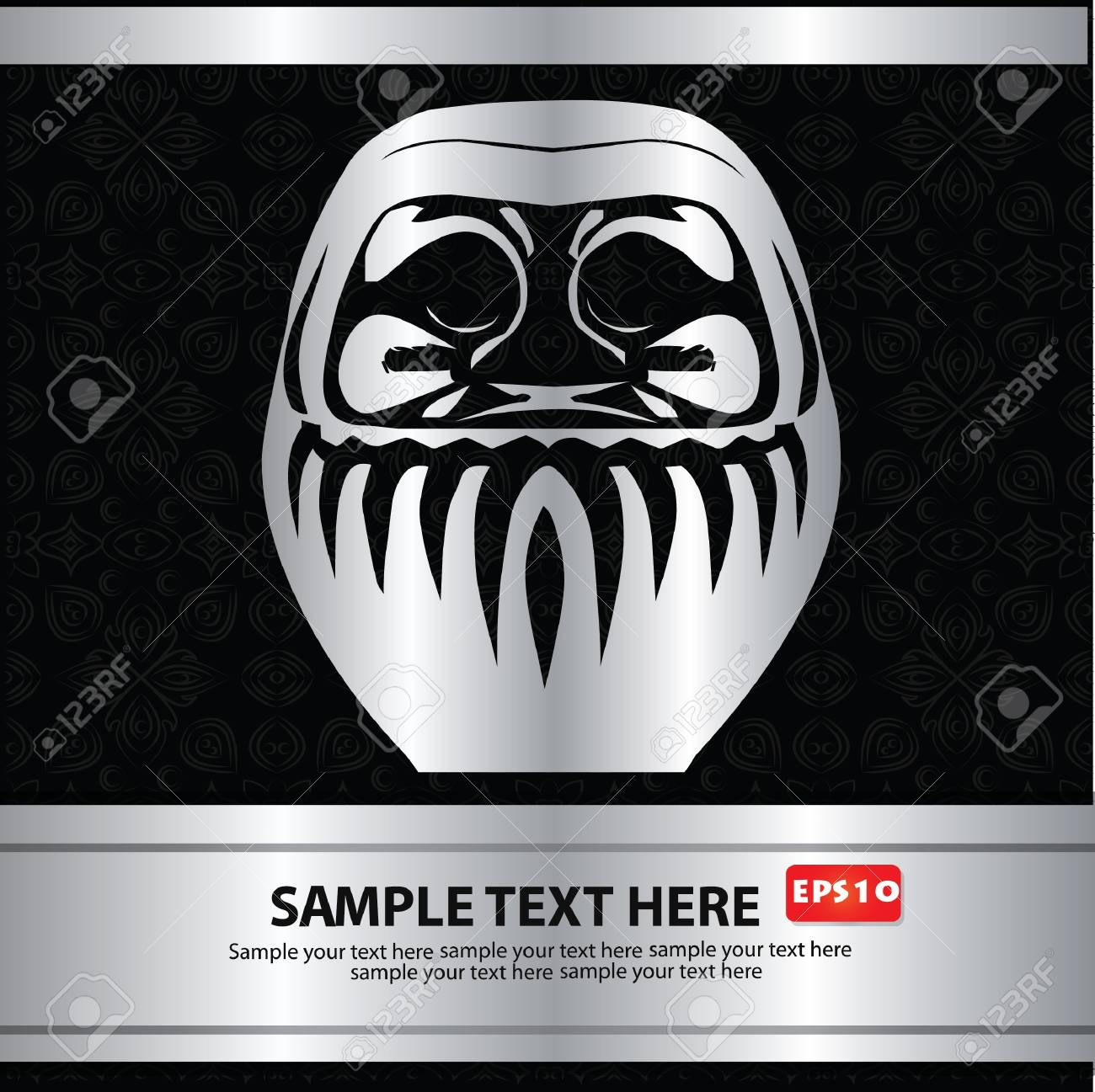 mask, cartoon, for text Stock Vector - 18522117