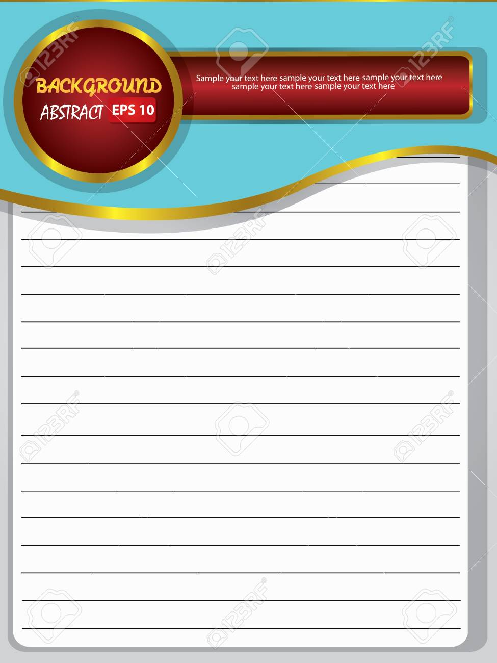 Blank old paper for text,Vector Stock Vector - 18588164