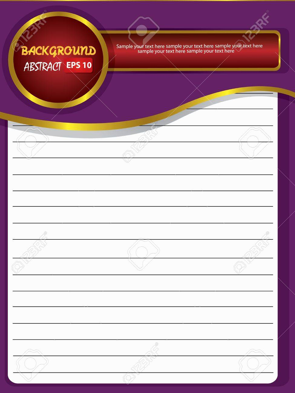 Blank old paper for text,Vector Stock Vector - 18588082