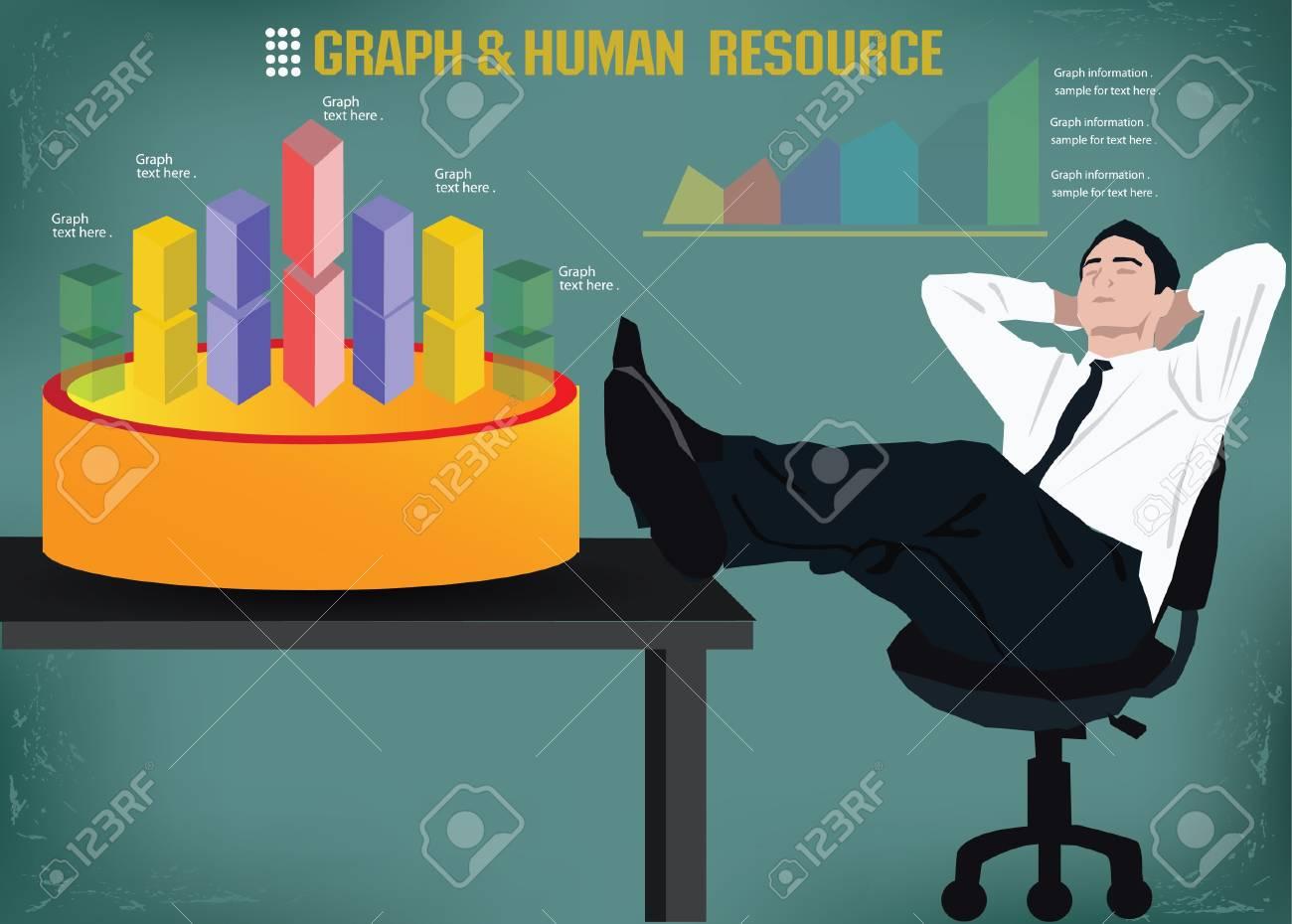 Business man,graphics design,vector Stock Vector - 18625942