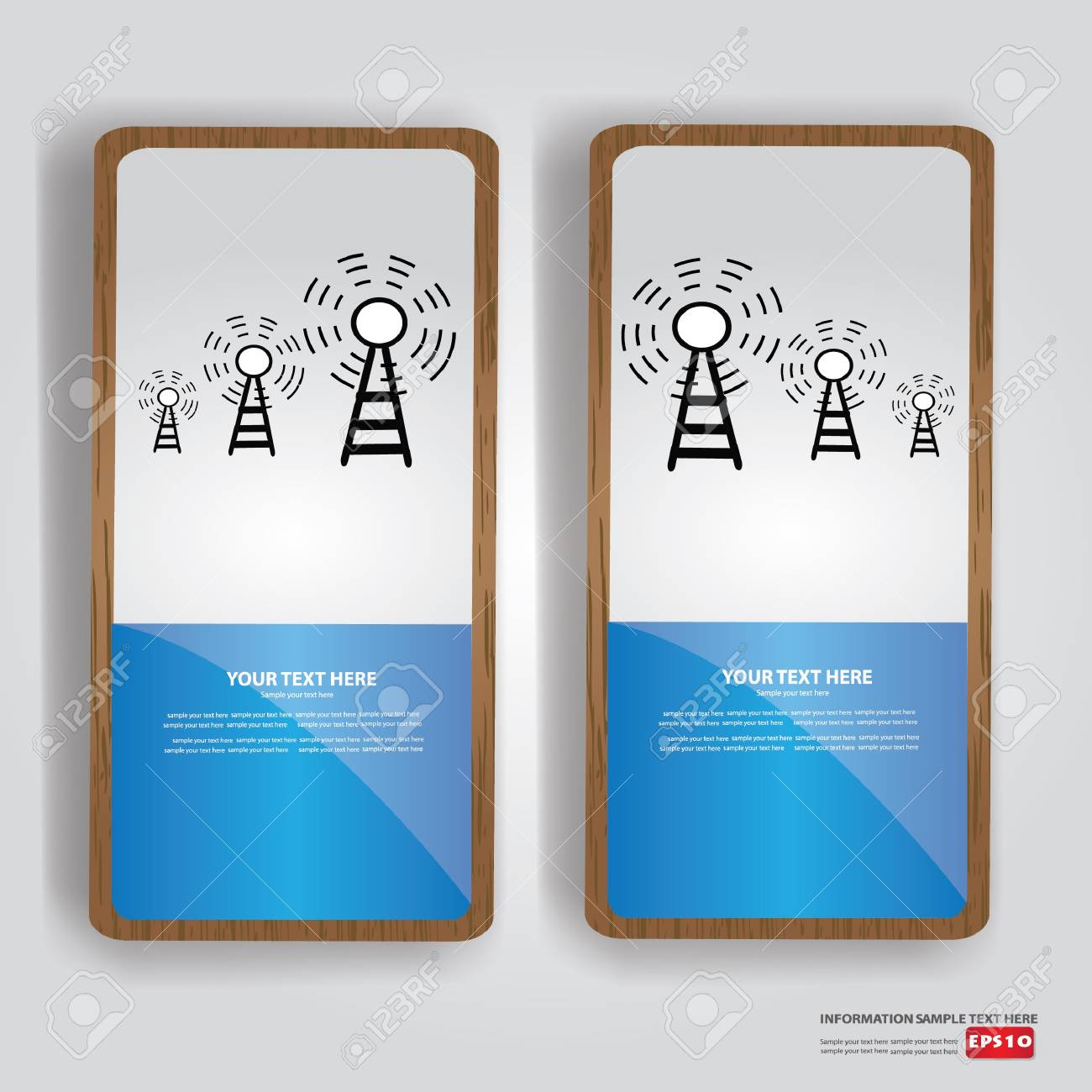 Wireless banner,Vector Stock Vector - 18751040